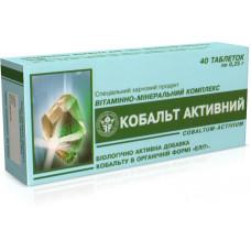 """Витаминно-минеральный комплекс """"Кобальт активный"""" №40"""
