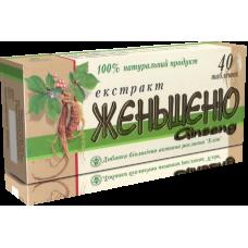 "Общеукрепляющий препарат ""Экстракт женьшеня"" №40"