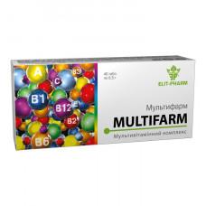 """Мультивитаминный комплекс """"Мультифарм"""" №40"""